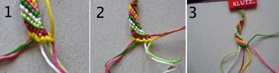 making bracelet tips 1-3