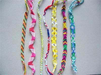 How To Make Friendship Bracelets: Basic Diagonal Stripe