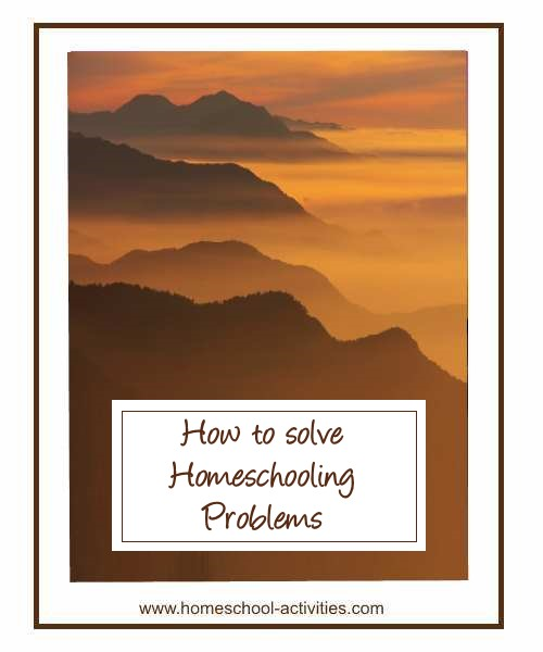 how to solve homeschooling problems