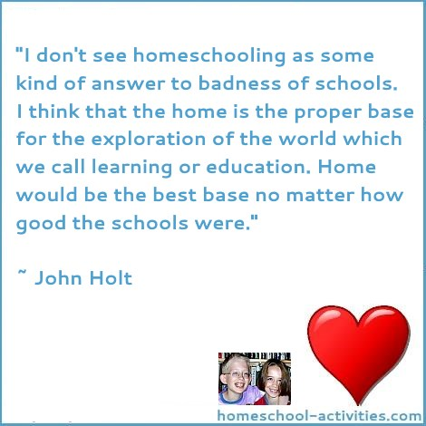 John Holt home education is best