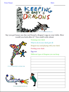 Dragon Crafts For Kids Learn Dragonology