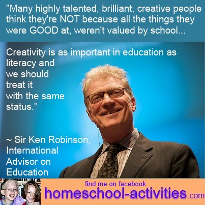Ken Robinson, international educational advisor