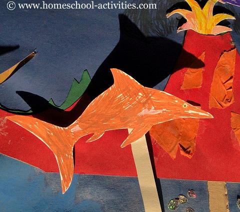 Kids paper crafts