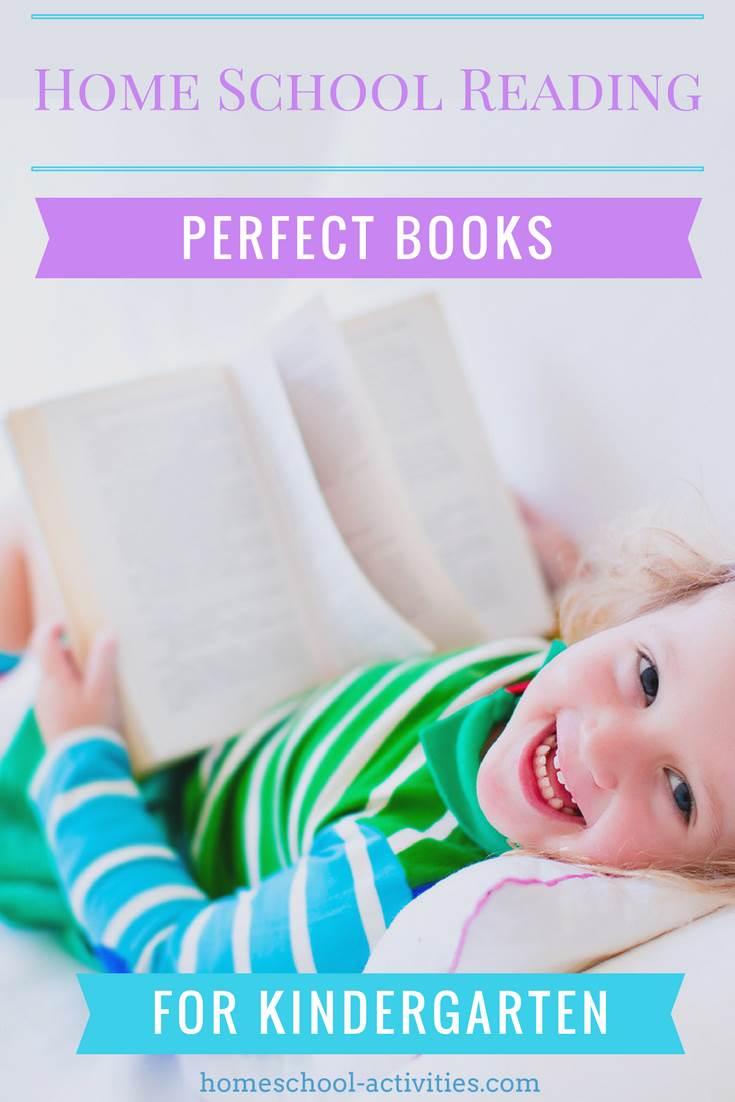 home school reading: kindergarten