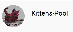 Kittens Pool child's youTube channel