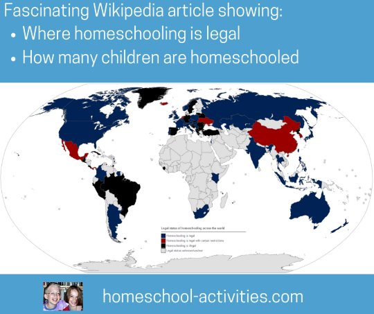 Legalities of homeschooling