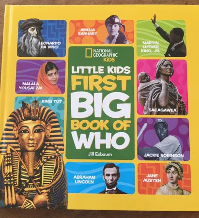 little kids first book of who