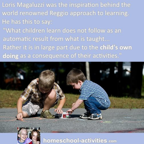 Loris Magaluzzi and his approach to child learning