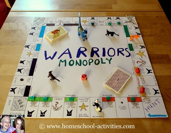 Make your own board game for kids Draw your house