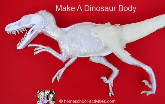 dinosaur body