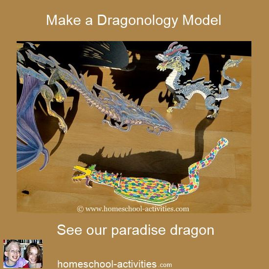 make a dragonology model