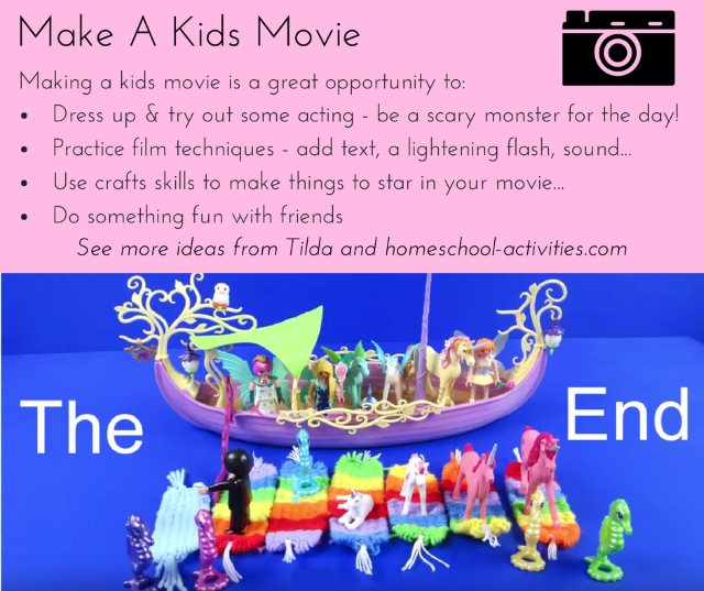 make a kids movie