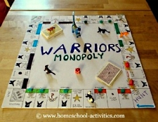 Warriors Monopoly