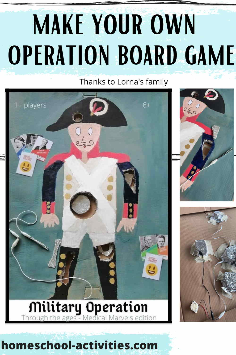 Make your own Operation board game