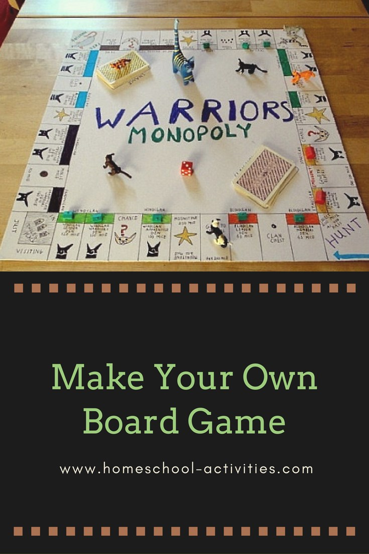 Make your own board game for kids for Custom build your own home