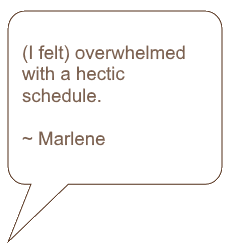 Quote from Marlene