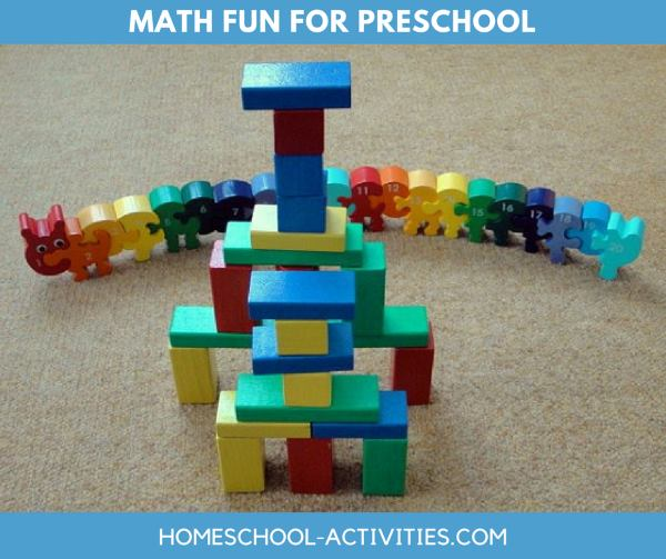 math fun for preschool