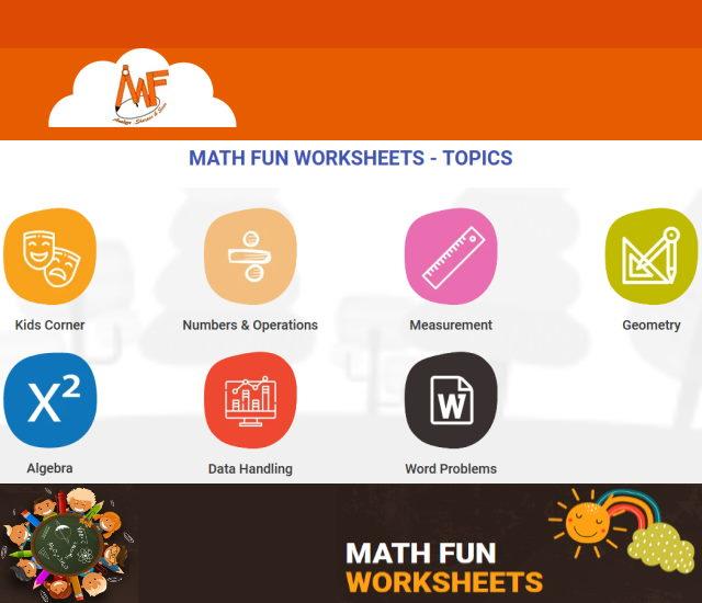 Math fun worksheets