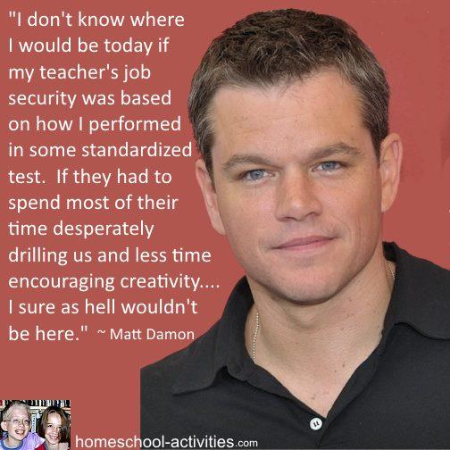 Matt Damon quote