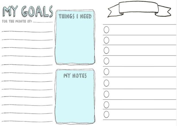 My homeschooling goals