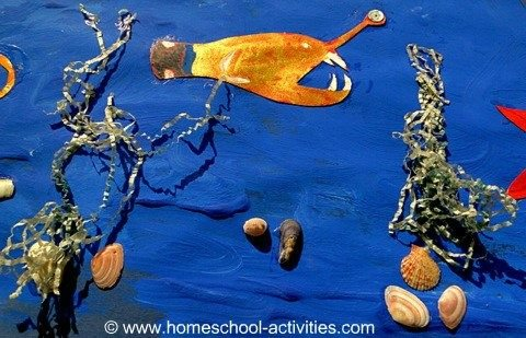 ocean creatures craft