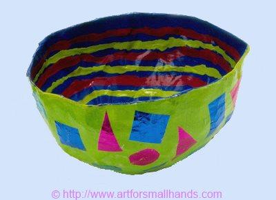 Diy with andrea: paper mache vase | diy kid crafts | pinterest.