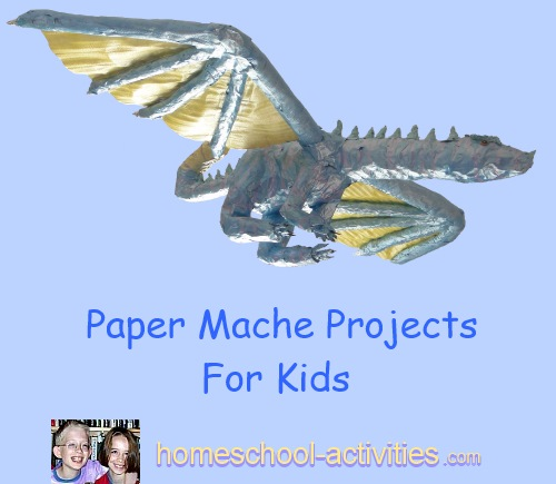 paper mache projects for kids