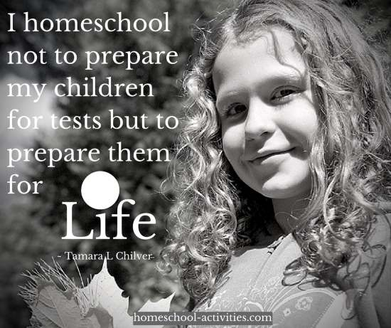 Tamara L Chilvers quote on preparing children for life