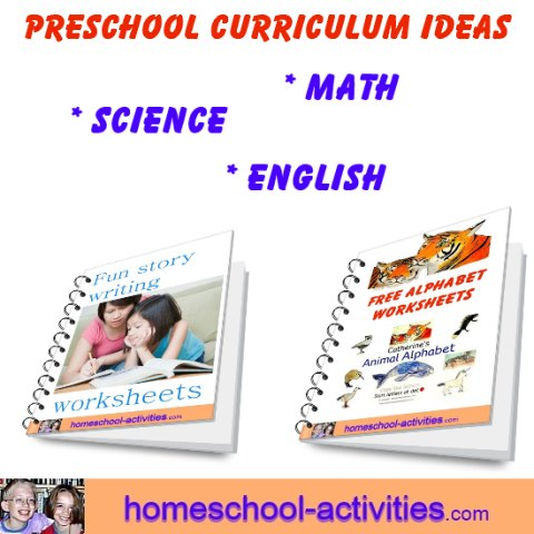 Free preschool curriculum activities