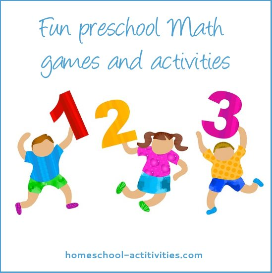 fun preschool math activities
