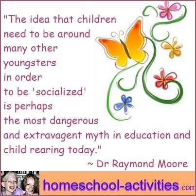 Dr Raymond Moore quote