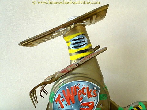 Craft Ideas Recycled on The Crafts Skills Your Kids Will Learn For Building Robots Will Come