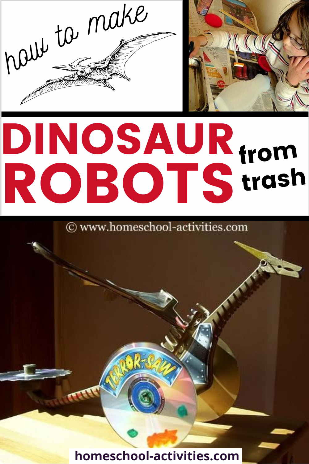 Build a dinosaur robot