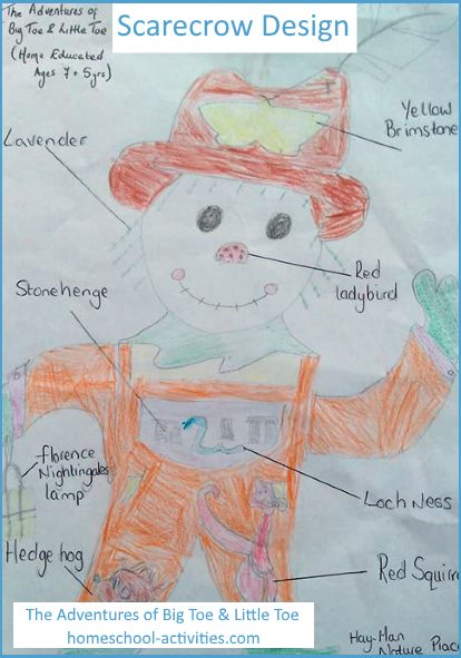 How To Make A Scarecrow For Kids