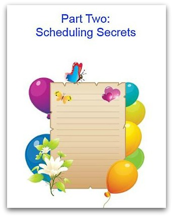 scheduling secrets