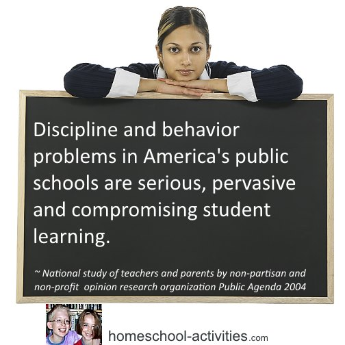 Facts about discipline and behavior problems in American public schools