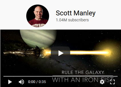 Scott Manley space news on YouTube