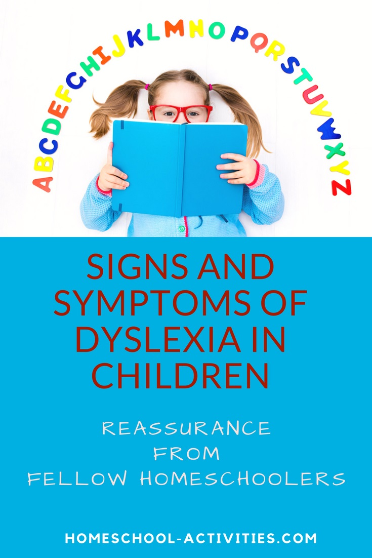 signs and symptoms of dyslexia