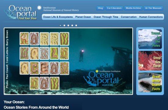Smithsonian Institute Ocean Portal