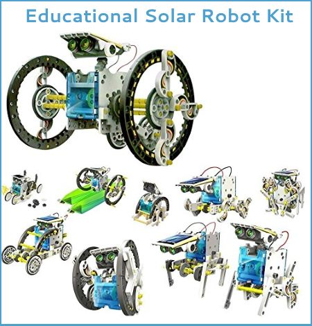 solar robot kit