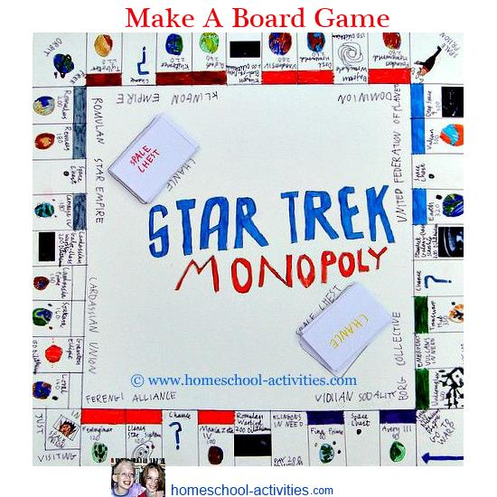 Make Your Own Board Game For Kids