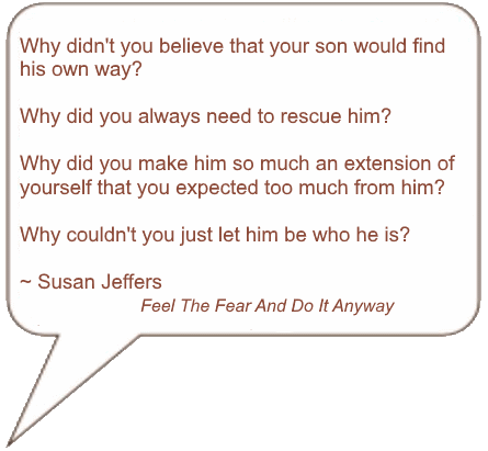 Quote from Susan Jeffers about trusting your child