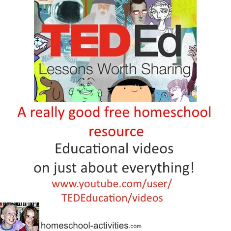 TED Educational videos
