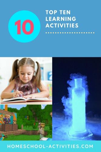 Top ten learning activities newsletter