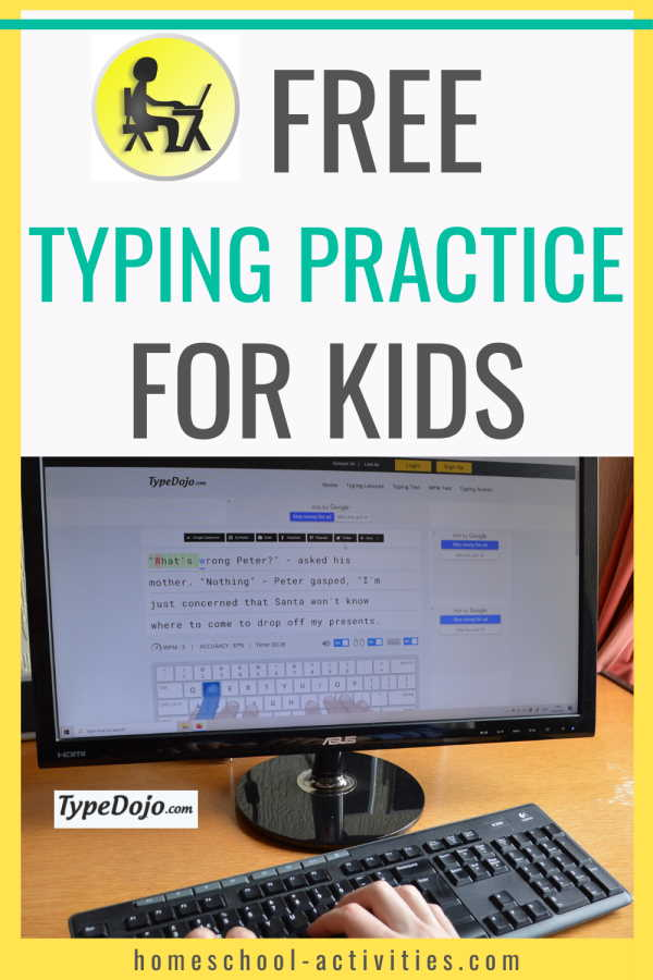 typing practice for kids