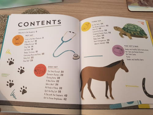 Inside page from Vet Academy