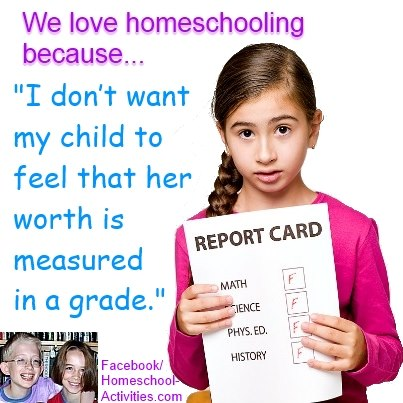 we love homeschooling because