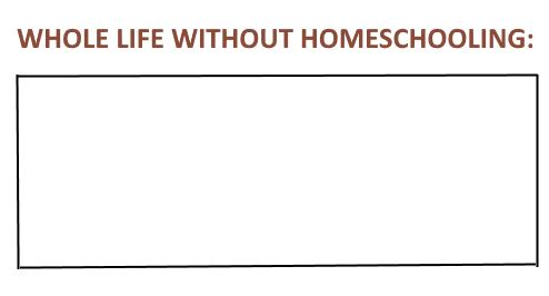 whole life without homeschooling