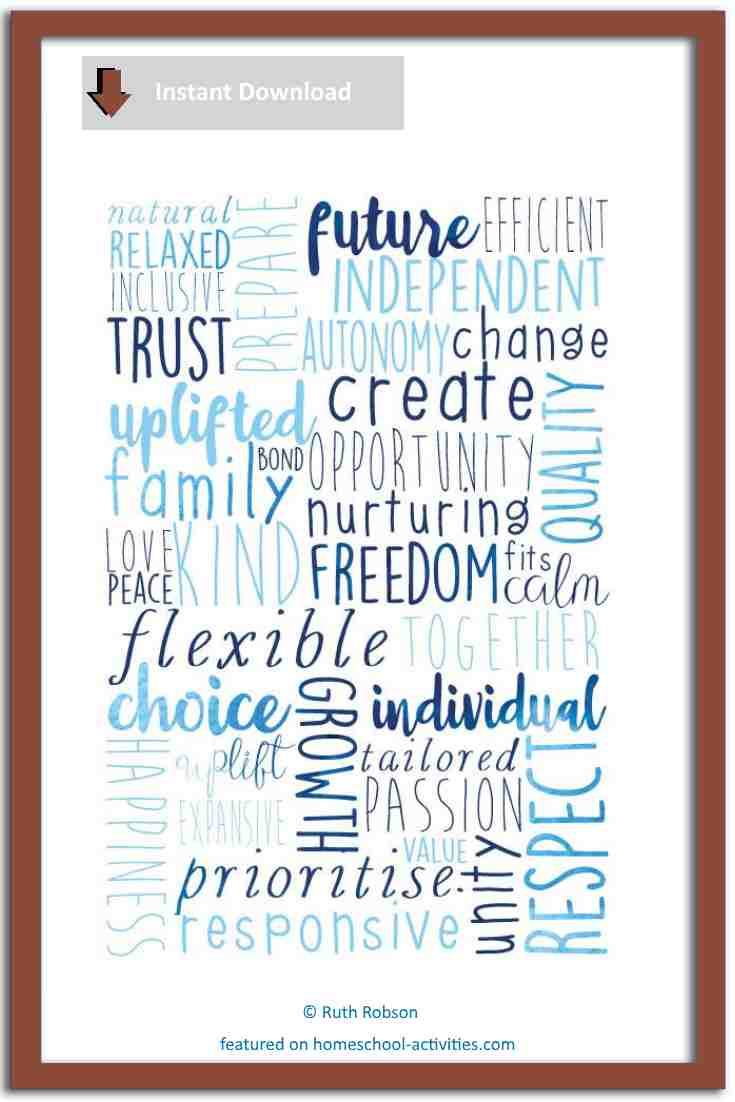 Courageous homeschooling poster