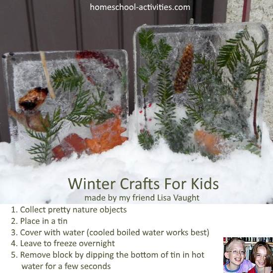 winter ice crafts